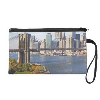 Park and Cityscape Wristlet