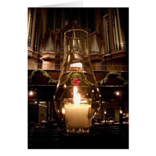 Park Avenue Christian Church at Christmas Card
