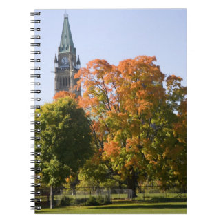 Park beside the Parliment Building in Ottawa, Notebook