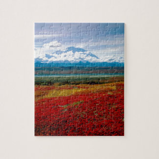 Park Brilliant Colors Of Denali Alaska Jigsaw Puzzle