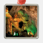Park Carlsbad Caverns New Mexico Silver-Colored Square Decoration