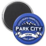 Park City Colour Logo Magnet