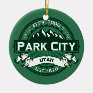 Park City Forest Christmas Ornament