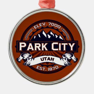 Park City Logo Vibrant Christmas Ornament
