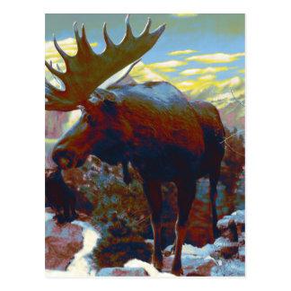 Park City Moose Souvenir Card Post Cards