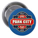 Park City Old Label Pinback Button