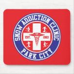 Park City Snow Addiction Clinic Mouse Pad