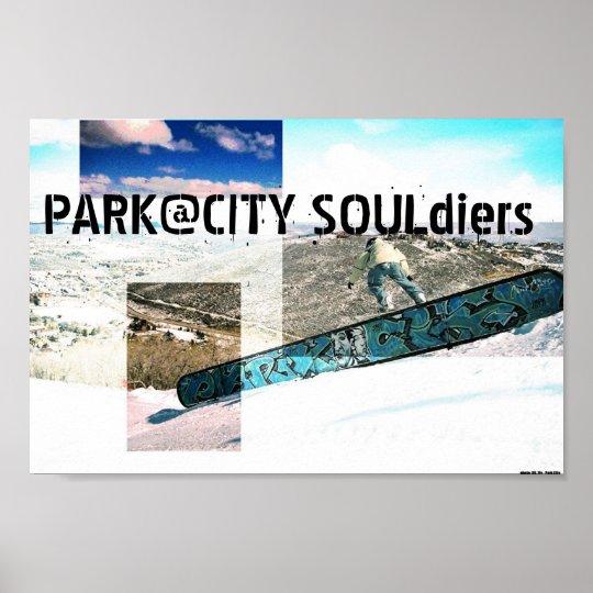 Park City Souldiers Poster