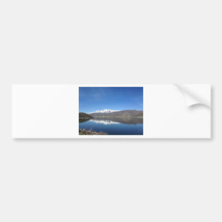 Park City Utah Mountain View Car Bumper Sticker