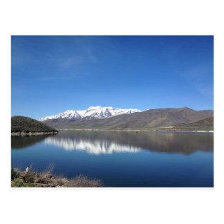 Park City Utah Mountain View Postcard
