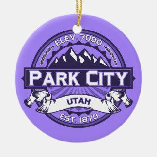 Park City Violet Christmas Ornament