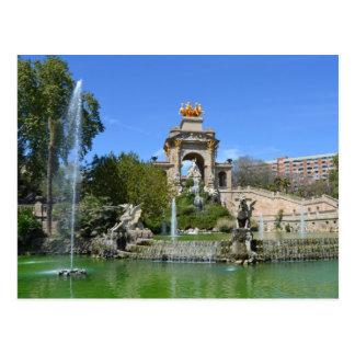Park Ciutadella Postcard