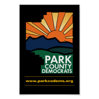 Park County Democrats Poster