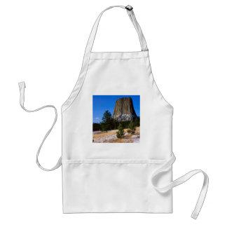 Park Devils Tower Monument Wyoming Standard Apron