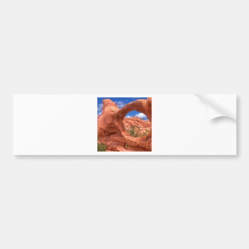 Park Double O Arch Arches Utah Bumper Stickers