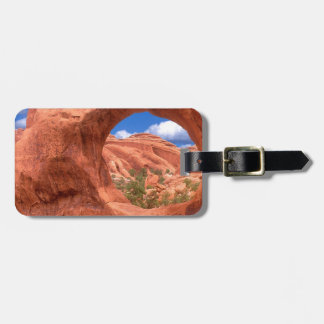 Park Double O Arch Arches Utah Luggage Tag