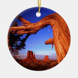 Park Fallen Monument Valley Christmas Ornament
