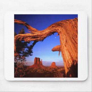 Park Fallen Monument Valley Mouse Pads