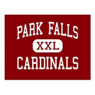 Park Falls - Cardinals - High - Park Falls Postcard