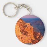 Park Grand Canyon At Sunrise Mather Point Basic Round Button Key Ring
