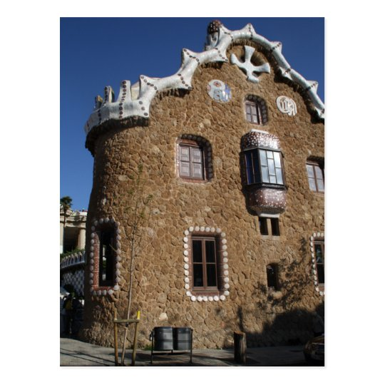 Park Güell, Barcelona Postcard