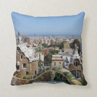 Park Güell, Barcelona, Spain Cushion