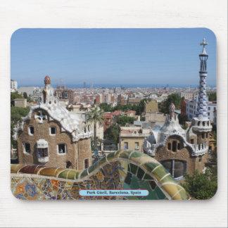 Park Güell, Barcelona, Spain Mouse Mat