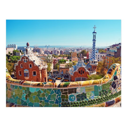 Park Guell, Barcelona - Spain Postcard