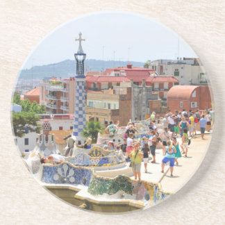 Park Guell in Barcelona, Spain Coaster