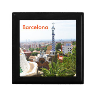 Park Guell in Barcelona, Spain Gift Box