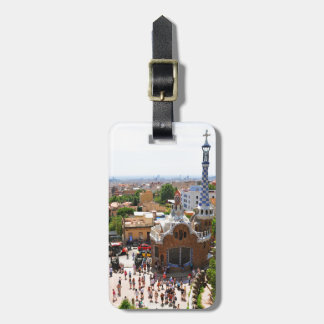 Park Guell in Barcelona, Spain Luggage Tag