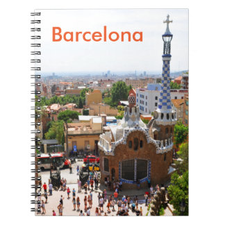 Park Guell in Barcelona, Spain Notebooks