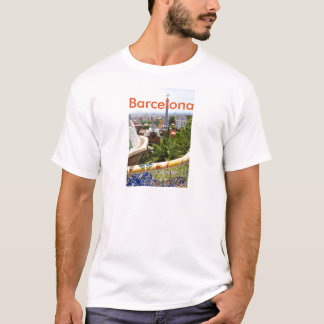 Park Guell in Barcelona, Spain T-Shirt