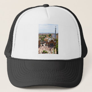 Park Guell in Barcelona, Spain Trucker Hat