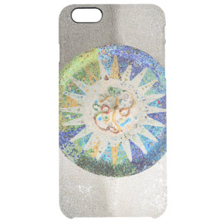 Park Guell mosaics Clear iPhone 6 Plus Case