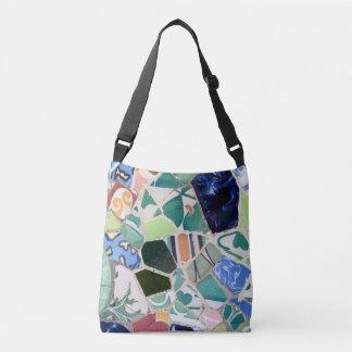 Park Guell mosaics Crossbody Bag
