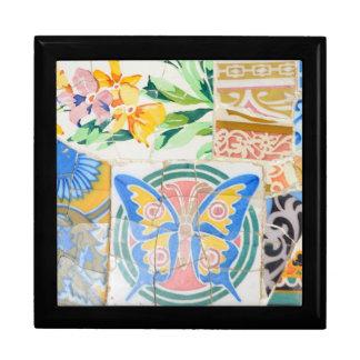 Park Guell mosaics giftbox Gift Box