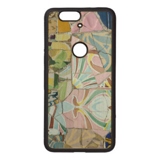 Park Guell mosaics Wood Nexus 6P Case