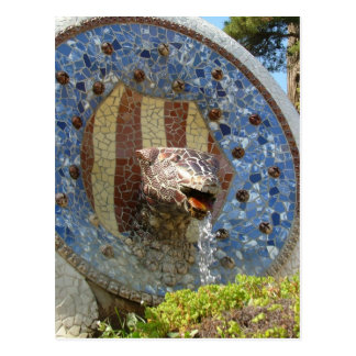Park Guell Post Card