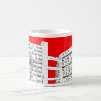 park hill bridges basic white mug
