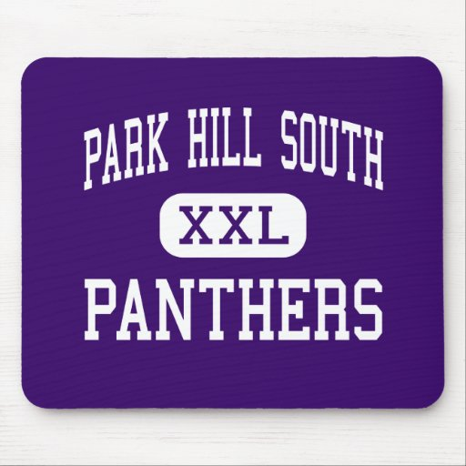 Park Hill South - Panthers - High - Riverside Mouse Pads