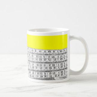 Park Hill yellow Basic White Mug