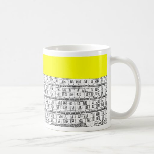 Park Hill yellow Coffee Mugs