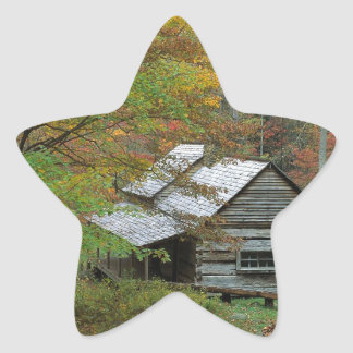 Park Homestead Cabin Ains Tennessee Star Stickers