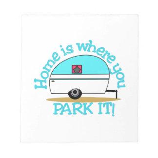 Park It Notepad