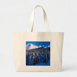 Park Kenai Ains Canyon Creek Alaska Canvas Bag