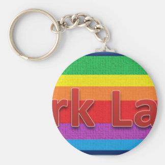 Park Lane Style 1 Basic Round Button Key Ring