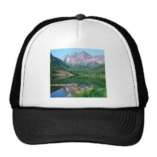 Park Maroon Bells White River Colorado Cap