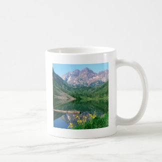 Park Maroon Bells White River Colorado Coffee Mug