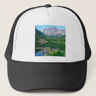 Park Maroon Bells White River Colorado Trucker Hat